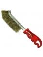 Щетка для зачистки швов (латунная, пласт. ручка)