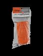 Шланг спиральный Fubag с фитингами рапид, химически стойкий полиамидный (рилсан), 20бар, 6x8мм, 5м