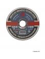 Круг отрезной ABRAFLEX A30R INOX BF 125X2,5X22,23