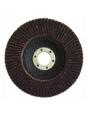 Круг шлифовальный лепестковый ABRAFLEX FLD10 INOX D150