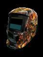Сварочная маска BRIMA MEGA HA-1110о (огненный череп)