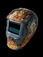 Сварочная маска BRIMA MEGA HA-1110о (огненная девушка)
