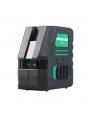 Лазерный уровень FUBAG Crystal 20G VH Set c зеленым лучом