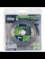 Алмазный отрезной диск Fubag Slim Fast D125 мм/ 22.2 мм