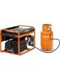 Генератор бензиновый газовый DAEWOO GDA 7500 DFE