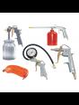 Набор пневмоинструмента Fubag 5 предметов (краскораспылитель с нижним бачком)