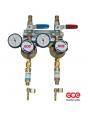 Сетевой редуктор GCE Uniset двойной (кислород/ацетилен)