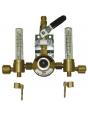 Сетевой редуктор GCE Uniset Flow одиночный (аргон/смесь) 30 л/мин