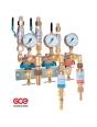 Сетевой редуктор GCE HF-Set S100 triple (кислород/пропан)