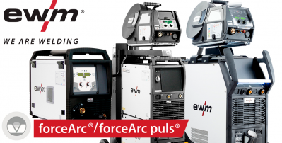 Экономим время и материалы с функциями forceArc/forceArc puls от EWM