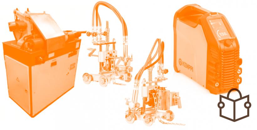 Инверторы Kemppi MasterTig, машины термической резки ПТК и контактной стыковой сварки ЮГ-Сварка МСО