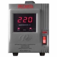 Однофазный электронный стабилизатор Ресанта АСН-500/1-Ц