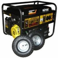 Генератор бензиновый Huter DY6500LX (c аккумулятором и колесами)