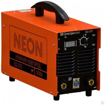 Сварочный аппарат neon 253 цена бензиновые генераторы чемпион цены