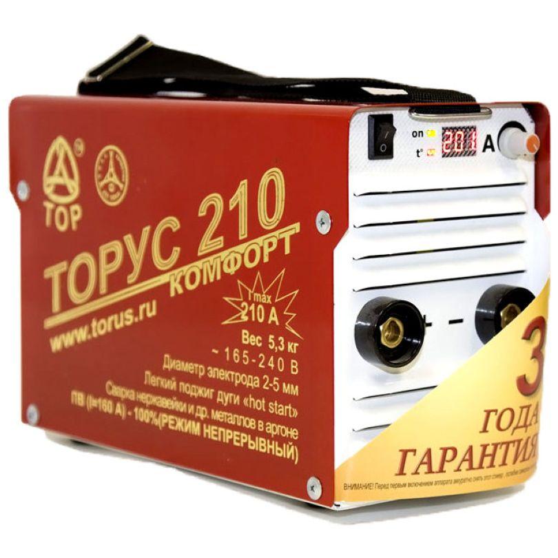 Сварочный инвертор ТОР Торус-210 Комфорт