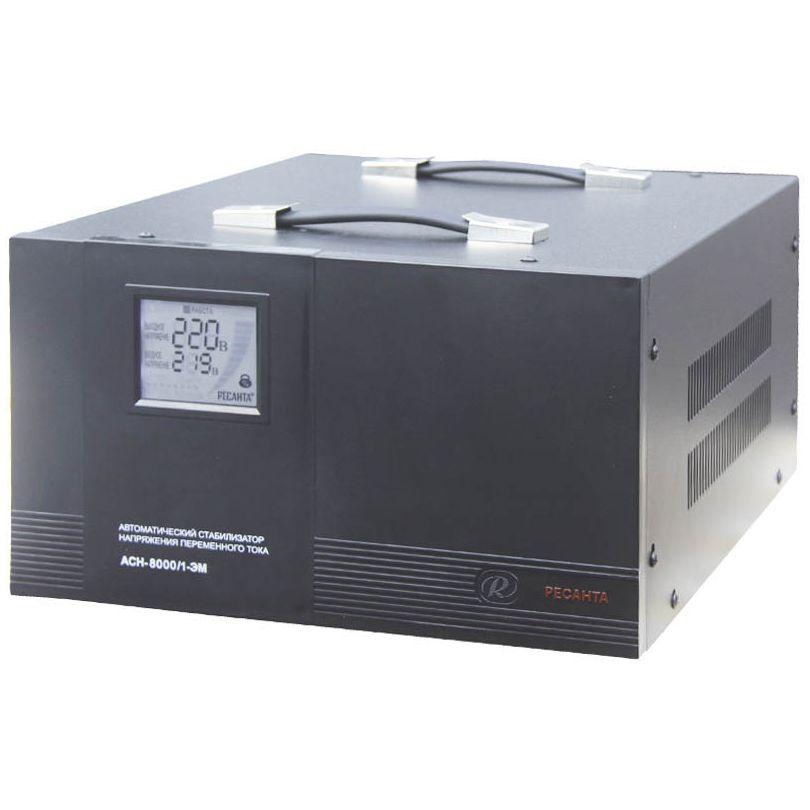 Однофазный электромеханический стабилизатор Ресанта АСН-8000/1-ЭМ