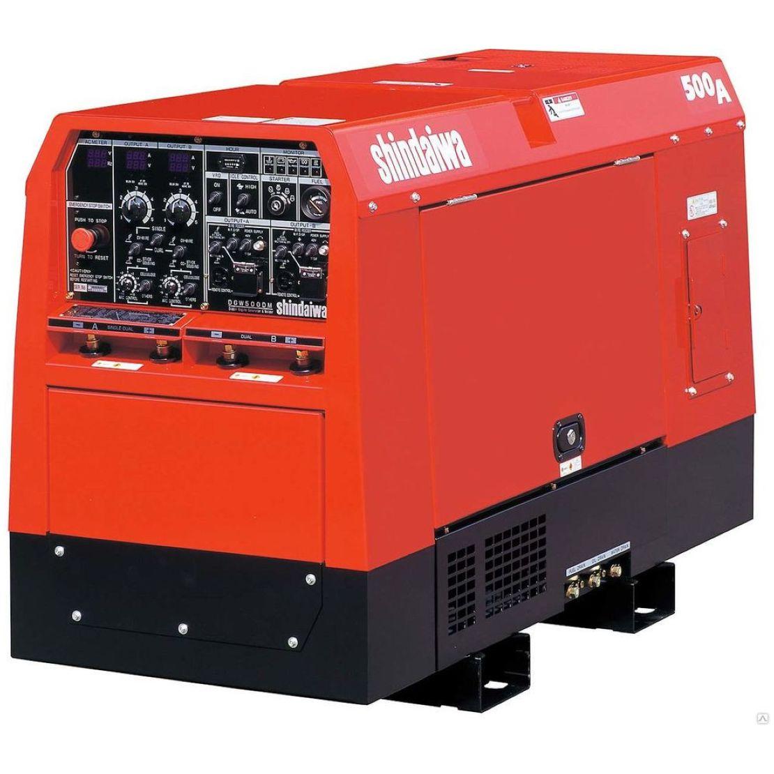 Сварочный агрегат Shindaiwa DGW500DM/RU